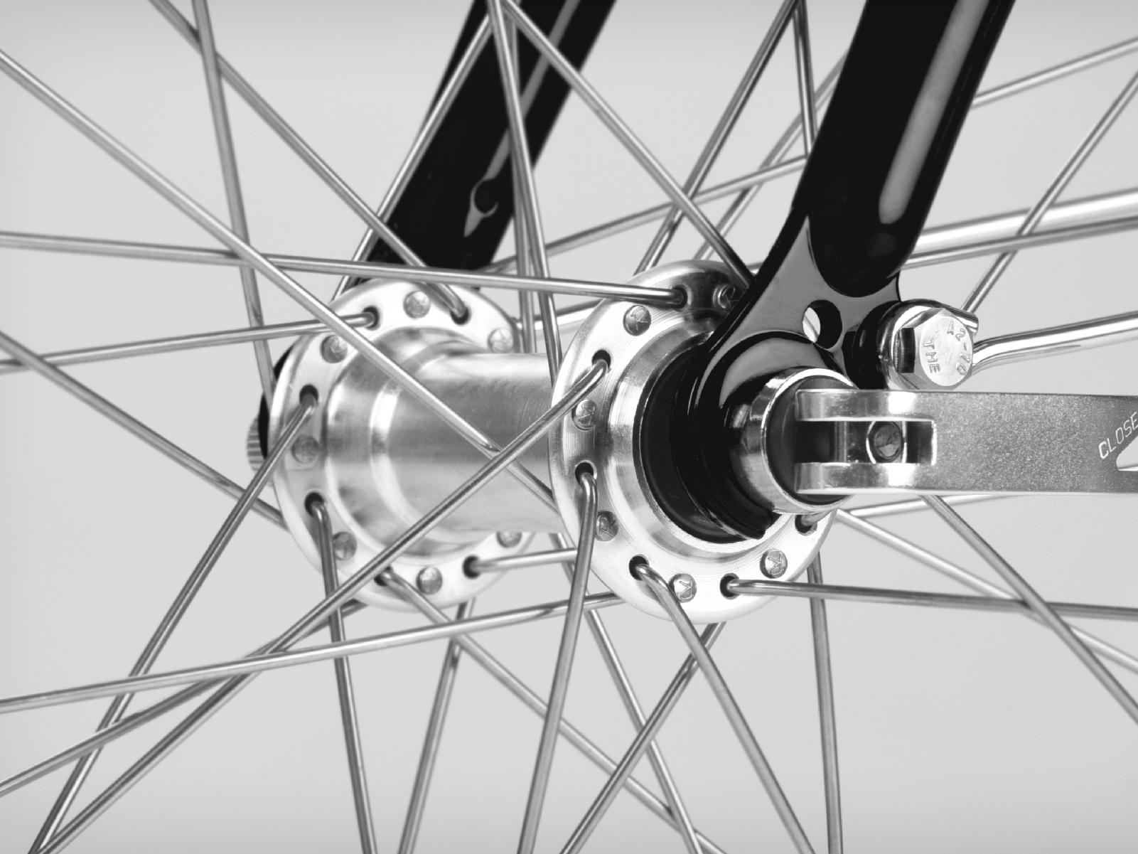 ENERMAX經典款淑女車快拆式自行車車輪