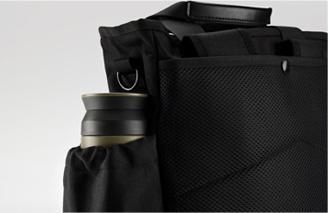 ENERMAX多功能都會生活背包兩側收納袋