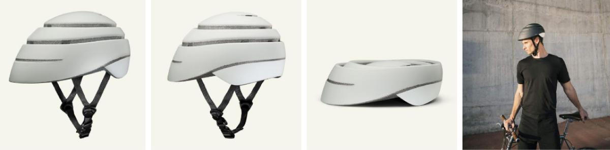西班牙CLOSCA LOOP自行車摺疊安全帽專利摺疊設計