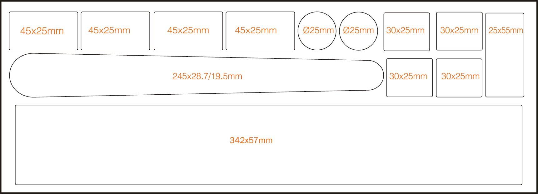 EVOLO透明車架烤漆保護貼