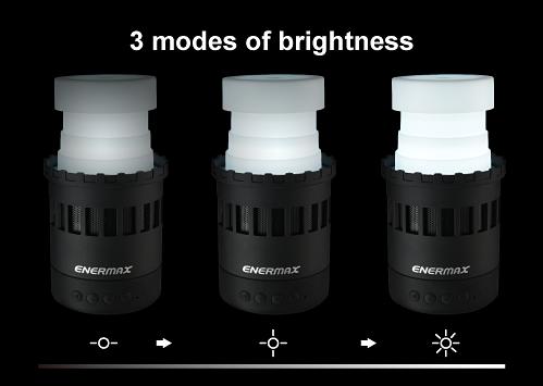 安耐美法老燈7合1多功能LED無線藍牙喇叭三段夜燈模式