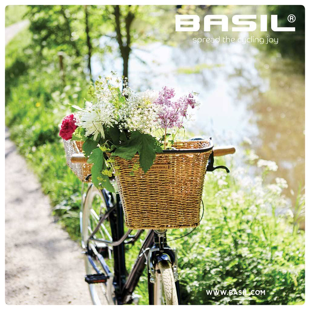 【Basil】Bremen 仿藤編前籃
