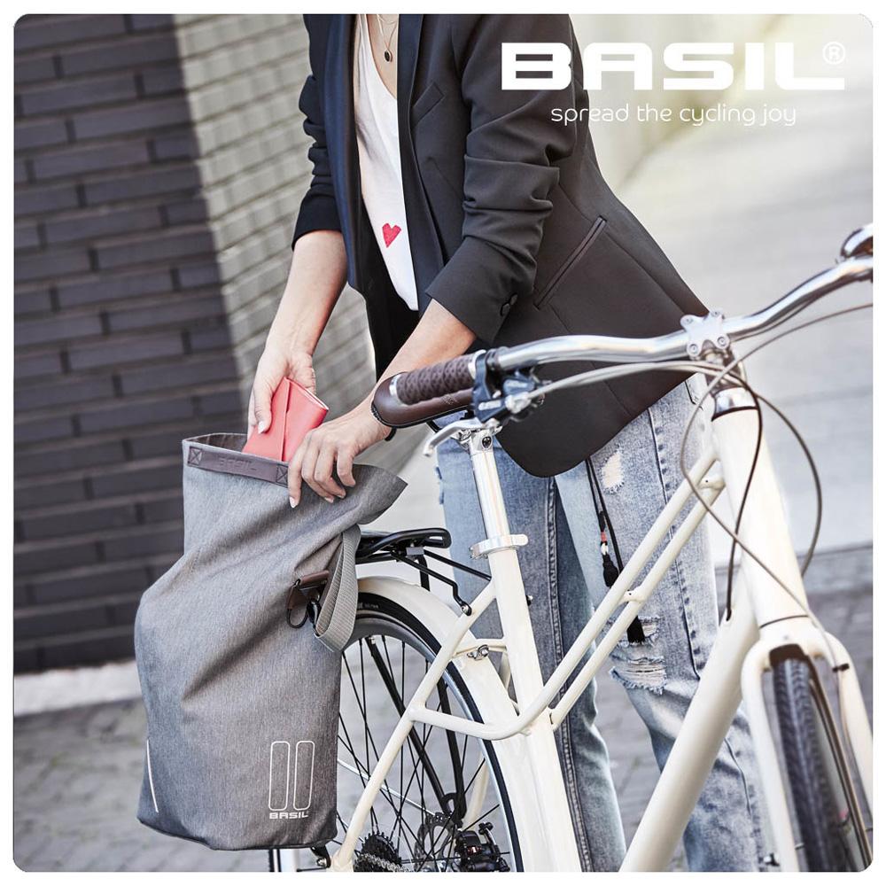 【Basil】City shopper 自行車包 14-16L